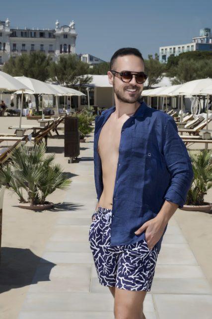 costumi da uomo - Edoardo Alaimo fashion influencer per Zalando6