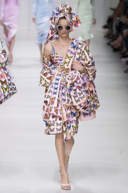 La sfilata tributo a Gianni Versace - Edoardo Alaimo6