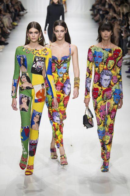 La sfilata tributo a Gianni Versace - Edoardo Alaimo8