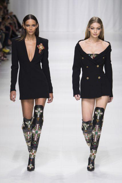 La sfilata tributo a Gianni Versace - Edoardo Alaimo3
