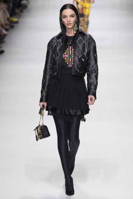 La sfilata tributo a Gianni Versace - Edoardo Alaimo2