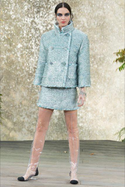 La Paris Fashion Week P/E 2018 Chanel tailleur