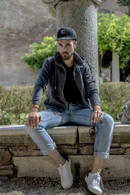 Edoardo Alaimo fashion influencer outfit Roma11