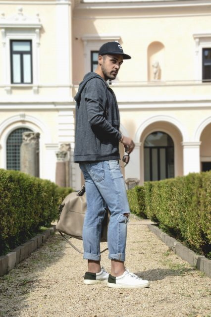 Edoardo Alaimo fashion influencer outfit Roma14