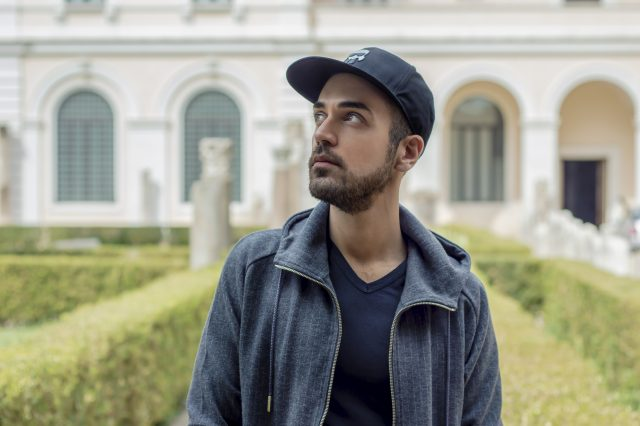 Edoardo Alaimo fashion influencer outfit Roma2