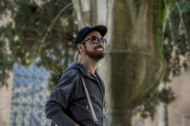 Edoardo Alaimo fashion influencer outfit Roma3