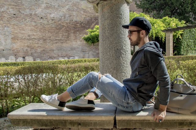 Edoardo Alaimo fashion influencer outfit Roma5