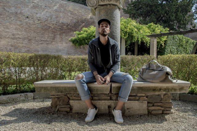 Edoardo Alaimo fashion influencer outfit Roma16