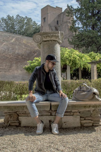 Edoardo Alaimo fashion influencer outfit Roma10