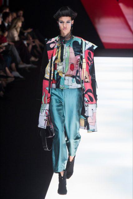 Milano Fashion Week P/E 2018 Giorgio Armani Edoardo Alaimo13