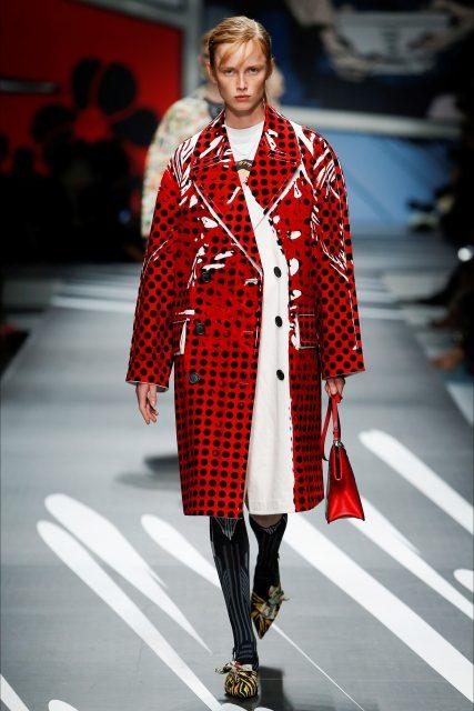 Milano Fashion Week P/E 2018 Miuccia Prada Armani Edoardo Alaimo18