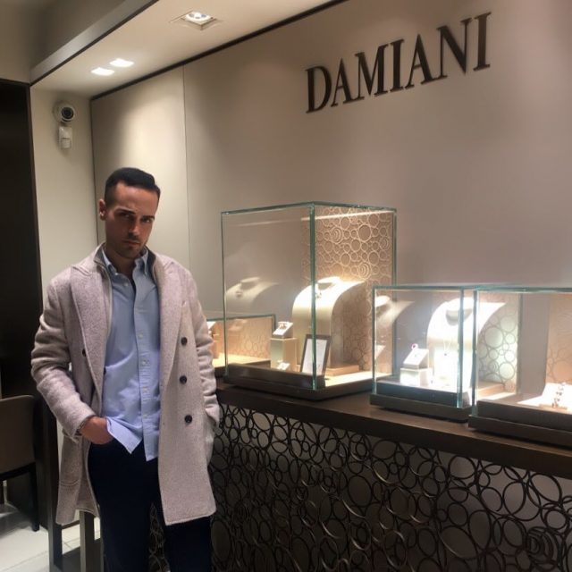 Fitting time at damianiofficial boutique for tomorrow photoshoot Mood ofhellip