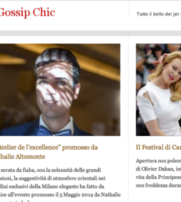 Edoardo Alaimo on Gossip Chic cover