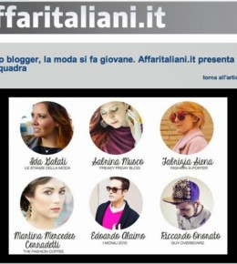 Edoardo Alaimo on Affari Italiani homepage