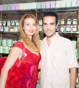 <!--:it-->Edoardo Alaimo e Valeria Mangani( Vicepresident of Alta Roma)<!--:-->