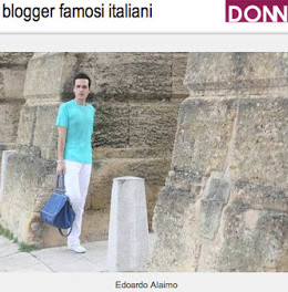 Edoardo Alaimo top fashion blogger