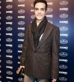 "Edoardo Alaimo on the photocall of "" L'uomo vogue"" event"