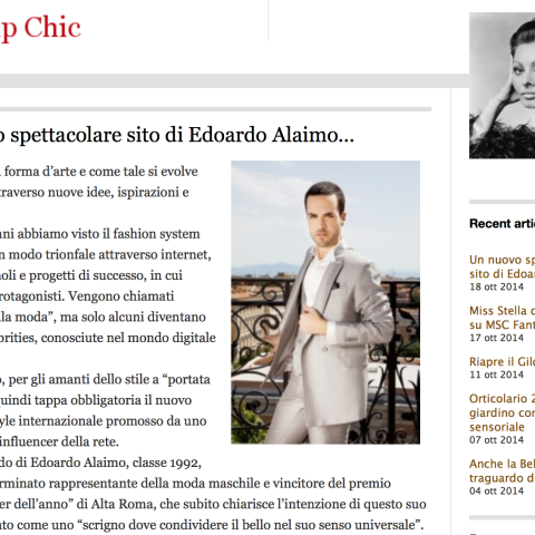 <!--:en-->Gossipchic.net talks about the new Edoardoalaimo.com<!--:-->
