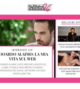 <!--:it-->Edoardo Alaimo per Bollicine VIP (Dicembre 2016)<!--:-->