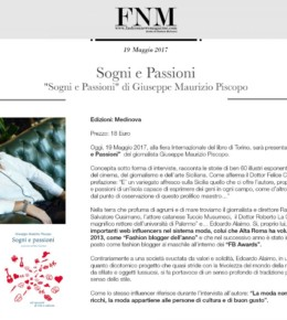Edoardo Alaimo on Fashion News Magazine - book review